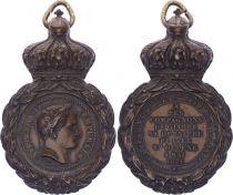 France Médaille de Sainte-Hélène - Napoléon I (1792-1815) - sans ruban