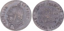 France Médaille satirique Napoléon III le Petit  - Sedan 1870