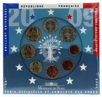 France Monnaie de Paris BU Set 2009