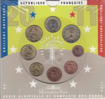 France Monnaie de Paris BU Set 2011 -  8 coins