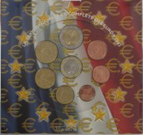 France Monnaie de Paris BU Set year 2003