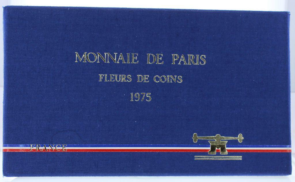 France Monnaie de Paris Uncirculated set 1975