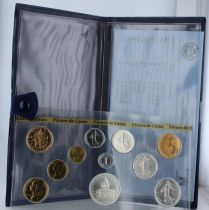 France Monnaie de Paris Uncirculated set 1982