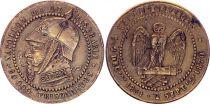 France Monnaie satirique Napoléon III le misérable - Sedan 1870 - 2e ex.