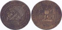 France Monnaie satirique Napoléon III le misérable - Sedan 1870 - 3e ex.