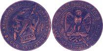 France Monnaie satirique Napoléon III le misérable - Sedan 1870 - 5e ex.