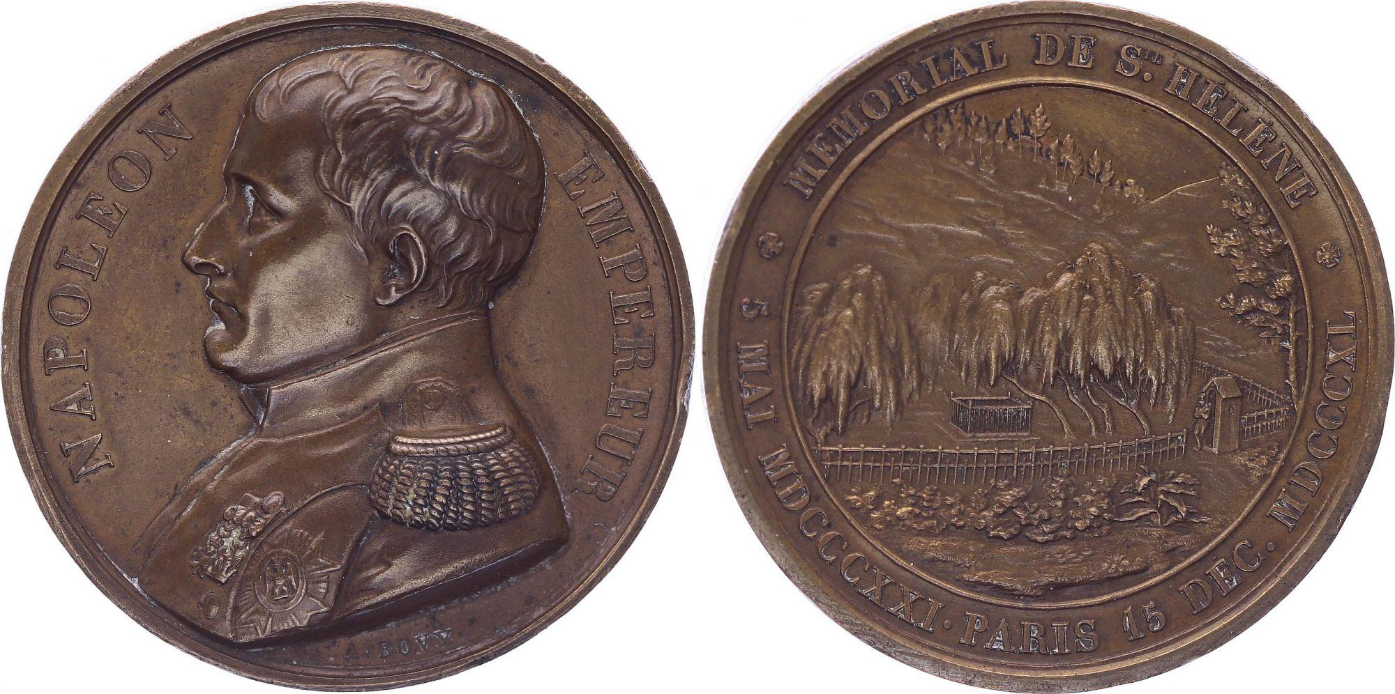 France Napoléon I - Mémorial de St Hélène - 1840