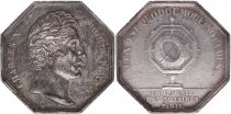 France Notary Token - Charles X - Company of Paris - Lamp