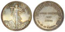 France Notary Token - Napoleon III - District of Rouen - 1862 Empire