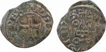 France Obole à l\'O rond Philippe IV (1285-1314)