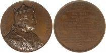 France Philippe VI de Valois  -  Série des rois de France par Caqué - 1840
