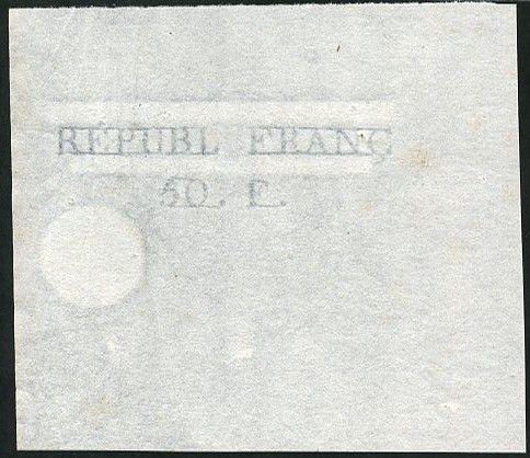 France Projet d´Assignat de 50 Francs 1796