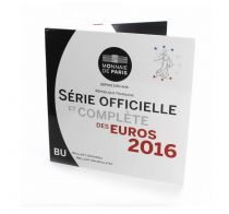 France Proof BU Set 2016 -  8 Euros coins 1 cent to 2  Euros