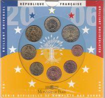 France Proof set BU 2006 - 8 coins in Euros