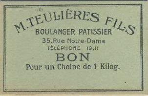 France Sans valeur Paris Bon pour un Choine de 1 kilo.