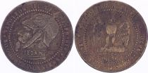 France Satirical coin Napoléon III le misérable - Sedan 1870 - 3rd ex.