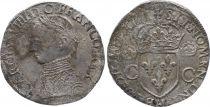 France Teston -  Charles IX - 1564 La Rochelle - F to VF - Silver