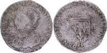 France Teston -  Charles IX - 15XX - La Rochelle - F - Silver