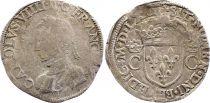 France Teston Charles IX - 1562  T Nantes - Argent - 2 ème type - TB+