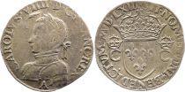 France Teston Charles IX - 1563  A Paris  - Argent - 2 ème type - TTB