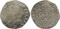 France Teston Charles IX - 1563  D Lyon - Argent - 6 ème type - TB+