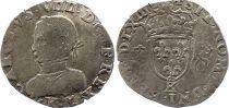 France Teston Charles IX - 1563  K Bordeaux - Argent - 2 ème type - TB