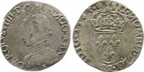France Teston Charles IX - 1563 I Limoges - Argent - 5 ème type - TTB