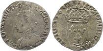 France Teston Charles IX - 1563 I limoges - Silver  - 5 nd type - VF