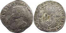 France Teston Charles IX - 1564  L Bayonne  - Silver  - 4th type - Fine+