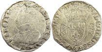 France Teston Charles IX - 1568  L Bayonne  - Silver  - 4th type - Fine