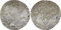 France Teston Charles IX - 1570 M Toulouse  - Silver  - 2 nd type - Good +