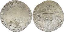 France Teston Charles IX - 1573 M Toulouse  - Silver  - 2nd type - FINE