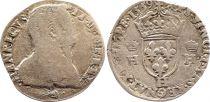 France Teston François II au nom de Henri II - 1559 H La Rochelle - p.TB - Argent - 1er type