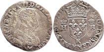 France Teston François II au nom de Henri II - 1559 K Bordeaux - TB +  - Argent - 3ème type