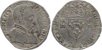 France Teston Henri II - 15XX - La Rochelle - F to VF - Silver