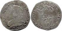 France Teston Henri III au nom de Charles IX - 1575 I Limoges - Argent - 11 ème type  ? - B+ / p.TB