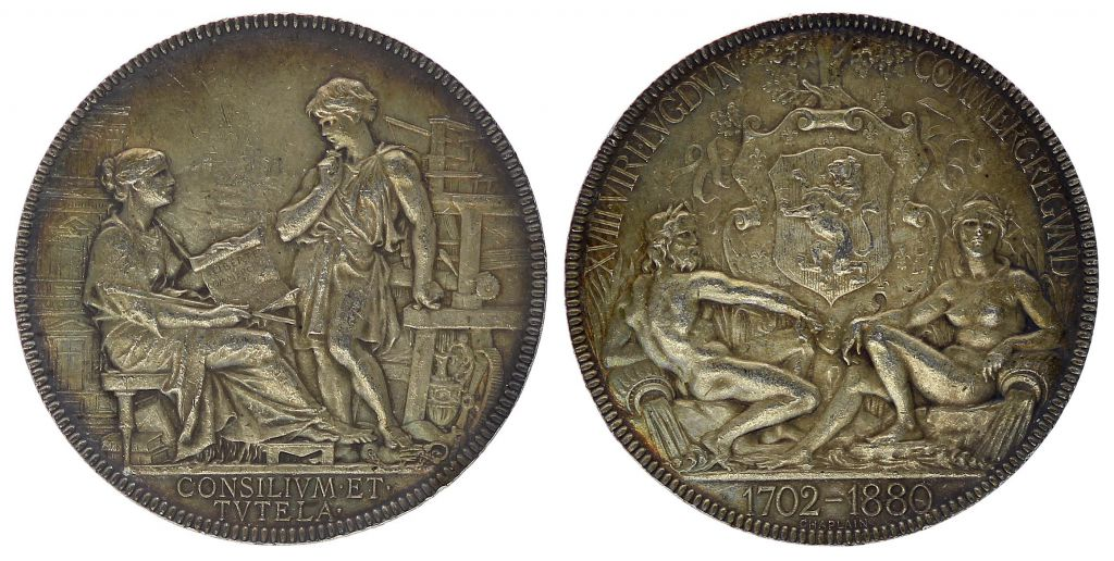 coin france token chambre de commerce - lyon - from 1702 to 1880