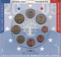 France UNC Set France 2005 - 8 euro coins