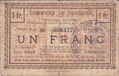 Francia 1 F Dourges