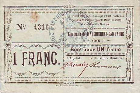 Francia 1 F Marchiennes-Campagne