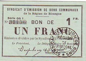 Francia 1 F Rimogne