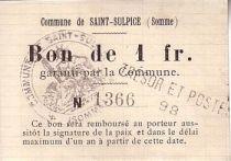 Francia 1 F Saint-Sulpice