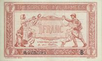 Francia 1 Franc Woman and soldier -  1917 B 0.420.594