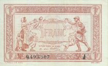 Francia 1 Franc Woman and soldier -  1917 J 0.495.507
