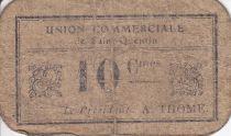 Francia 10 cent. Saint-Quentin