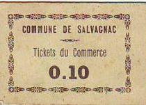 Francia 10 cent. Salvagnac