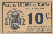 Francia 10 centimes Luchon City