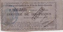 Francia 10 F - Cancelled - 1870