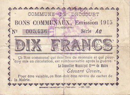 Francia 10 F Drocourt