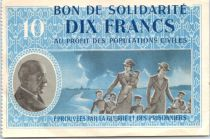 Francia 10 Francs , Petain - Women with childs
